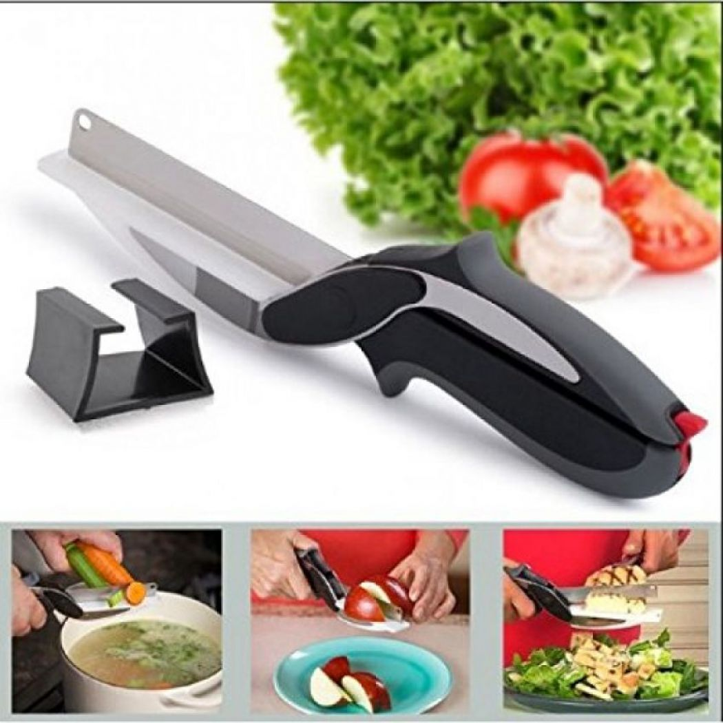 Clever Cutter 2-in-1 Knife And Cutting Board, Kitc