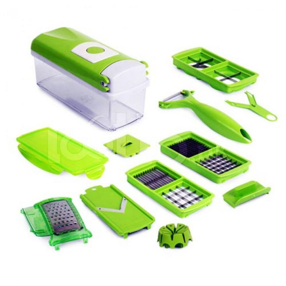 Genius Nicer Dicer 5 Layer Kitchen Scissors In Pakistan