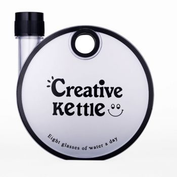 1 Pc Creative Kettle Bottle For Travel 350ml