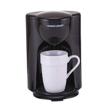 BLACK ND DECKER Coffee Maker wd Ceramic Cup Black