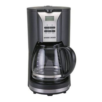 Black ND Decker 12 Cup Coffee Maker 220-240 Volt B