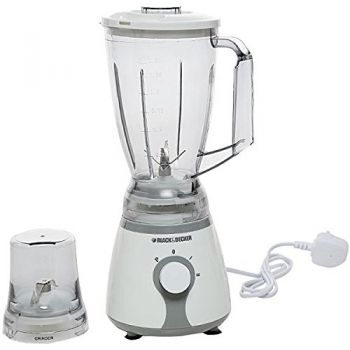 Black ND Decker 300wt Dual Func Blender n Grinder