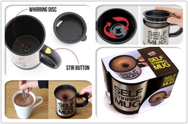 Tea - Coffee Self Stirring Mug