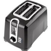 Black & Decker 2 Slice Alluminium Toaster LET82