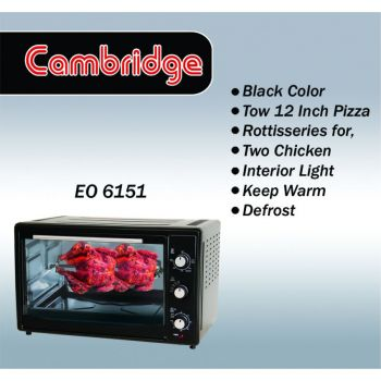 Cambridge Electric Oven Eo-6151