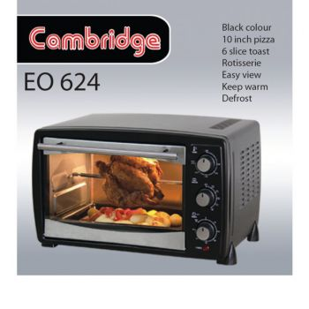 Cambridge Electric Oven Eo-624