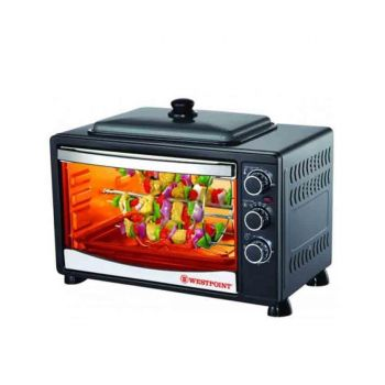 Westpoint WF-3800RKD Toaster Oven with Hot Plate 4