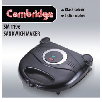 Cambridge Sandwich Maker Sm-1196