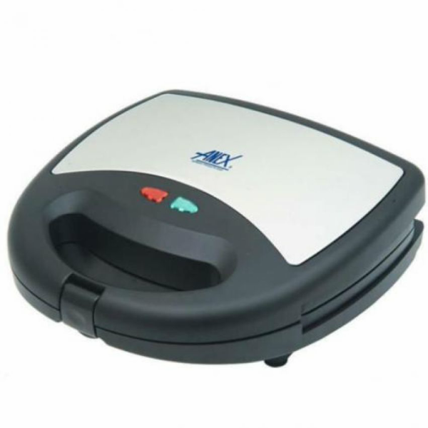 AG-1037 C - Deluxe Sandwich Maker 750 Watts Black