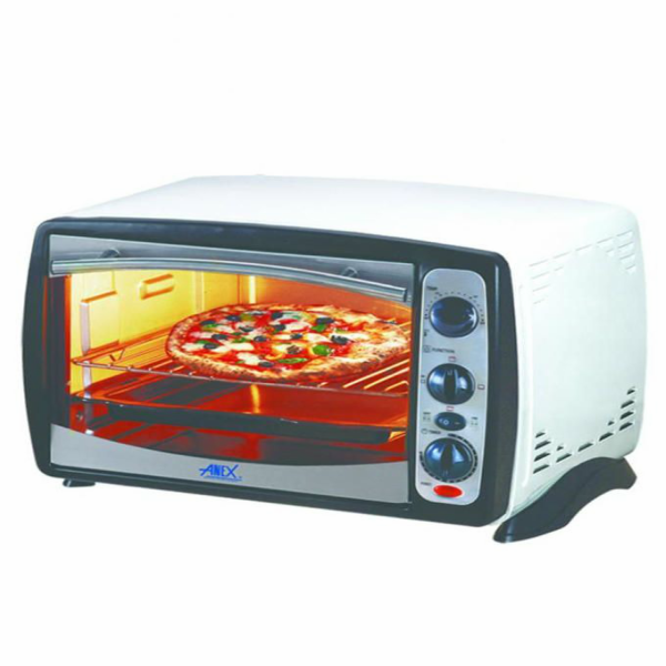 Anex AG 1064 Deluxe Oven Toaster White and Black