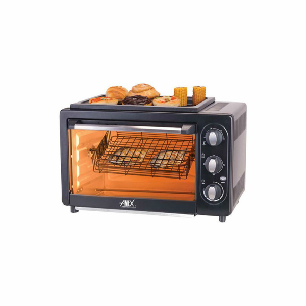 Anex Oven Toaster Convection B B Q Grill Rotissrie