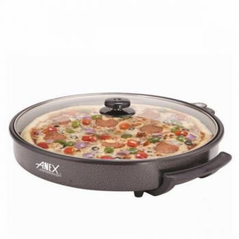 Anex AG 3063 Deluxe Pizza Pan and Grill 30cm Black