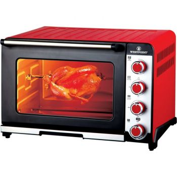 Convection Grilling Oven Toaster - Red