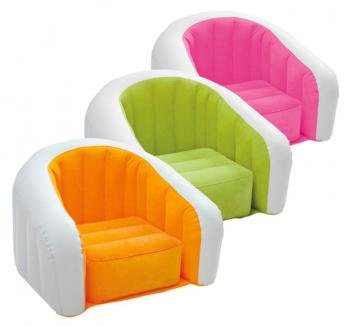 Cafe Club Chair-Intex Inflatable Se