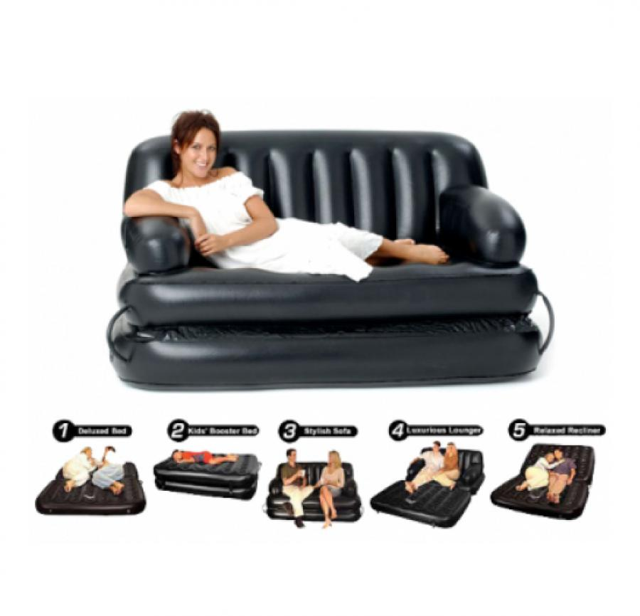 air lounge sofa cum bed 5 in 1 in pakistan hitshop. Black Bedroom Furniture Sets. Home Design Ideas