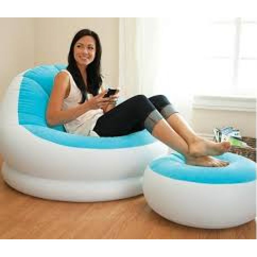 Intex Inflatable Footrest Sofa For Single Person  : pk3Intex20Inflatable20Sofa20and20Stool2068572NP from centerfieldbar.com size 900 x 900 jpeg 67kB
