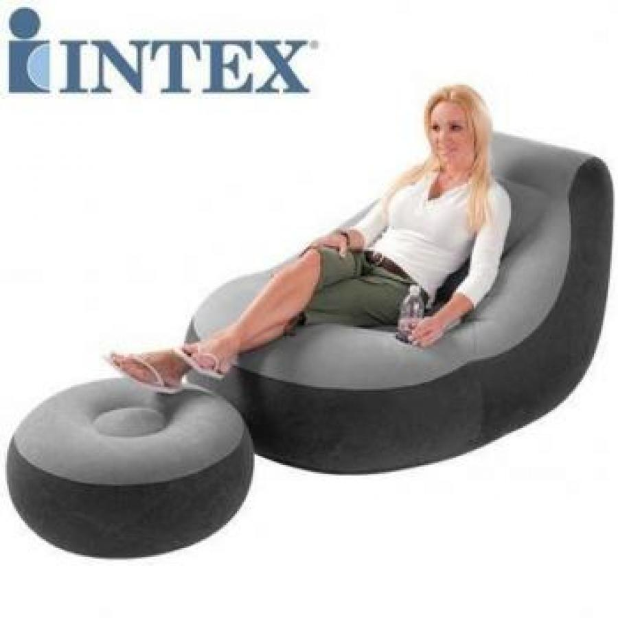 Inflatable Furniture Intex: INFLATABLE SOFA WITH FOOTREST SET INTEX 68564 In Pakistan