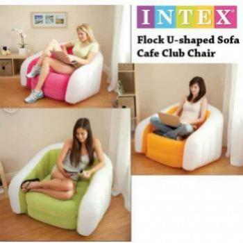 INFLATABLE SOFA FLOCK U SHAPED SOFA CAFE CLUB CHAI