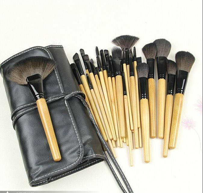 Bobbi Brown 24 Pcs Brush Set With Black Makeup Bru