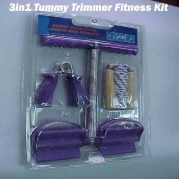 3in1 Tummy Trimmer Fitness Kit