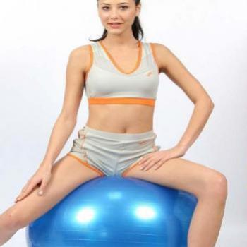 Exercise Gym Ball With Filling Pump