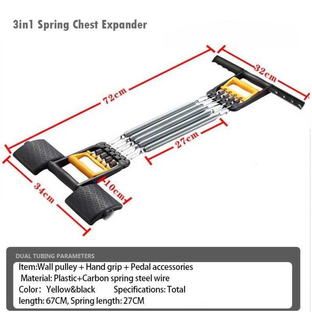3in1 Spring Chest Expander