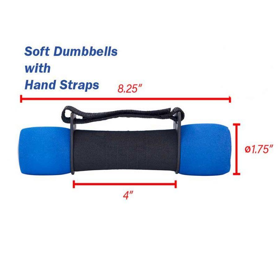 Adjustable Dumbbells In Pakistan: Hand Straps Soft Dumbbells In Pakistan