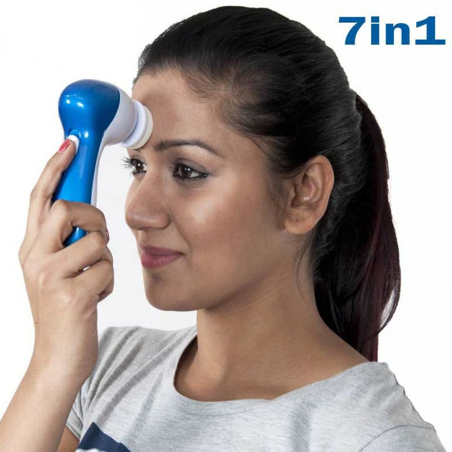 7 In 1 Electronic Face Facial Massager
