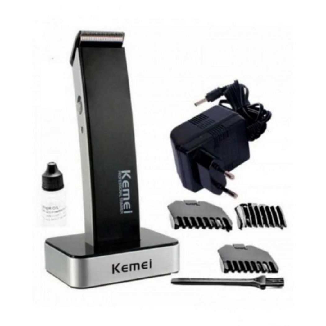 KM-619 Hair Clipper - Black and White