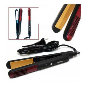 Nova Professional Hair Straightener NHC-473CRM
