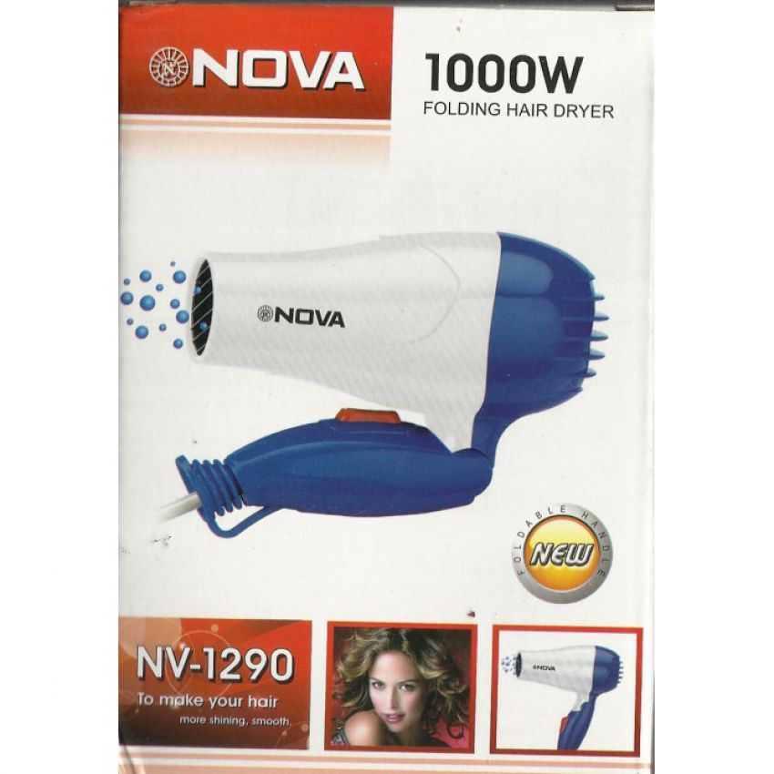 Combo of Nova Hair Dryer 2 in 1 Hair Styler