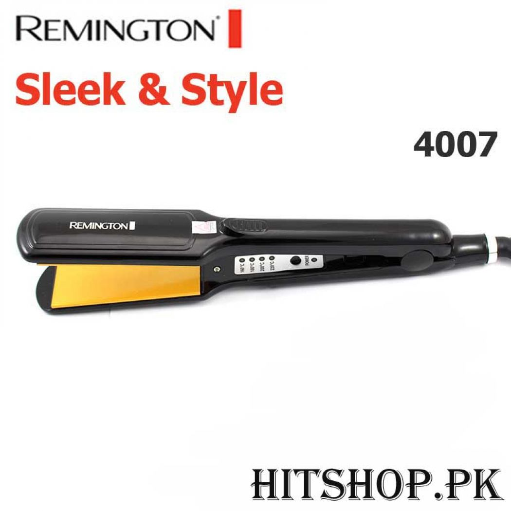 Remington Sleek And Style Hair Straightener 4007