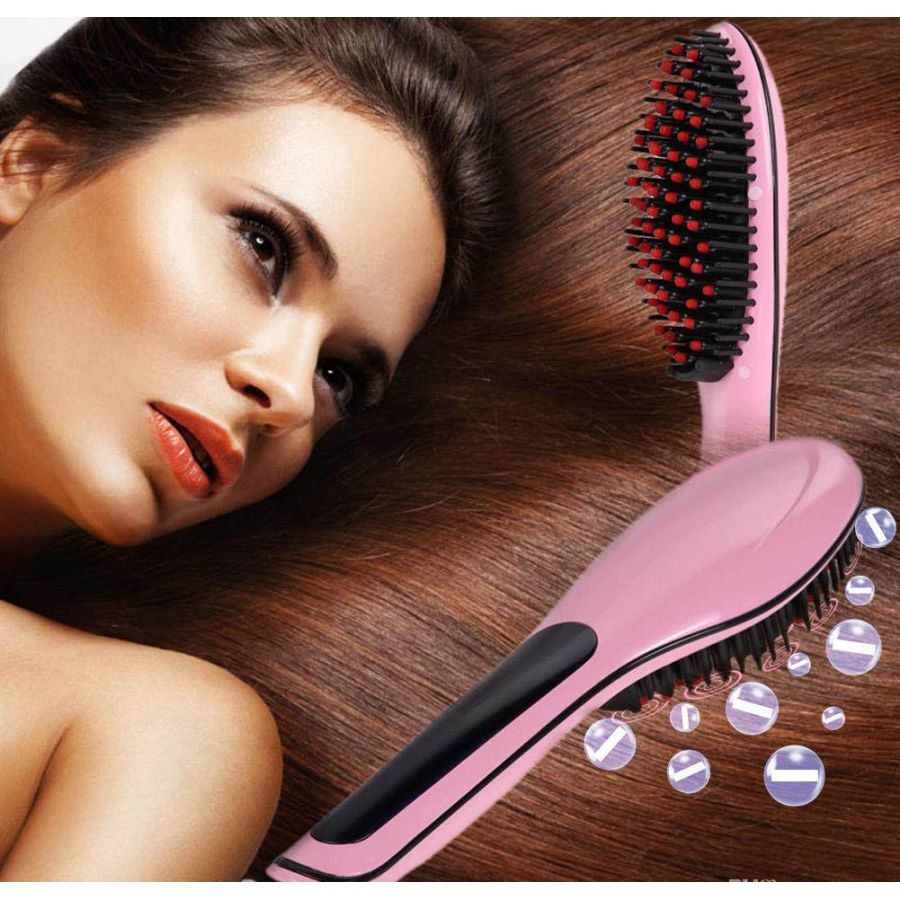 Fast Hair Straightner Brush