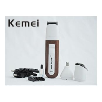 Rechargeable Kemei 3 In 1 Shaver Clipper Set For M