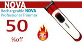Rechargeable Nova Professional Trimmer
