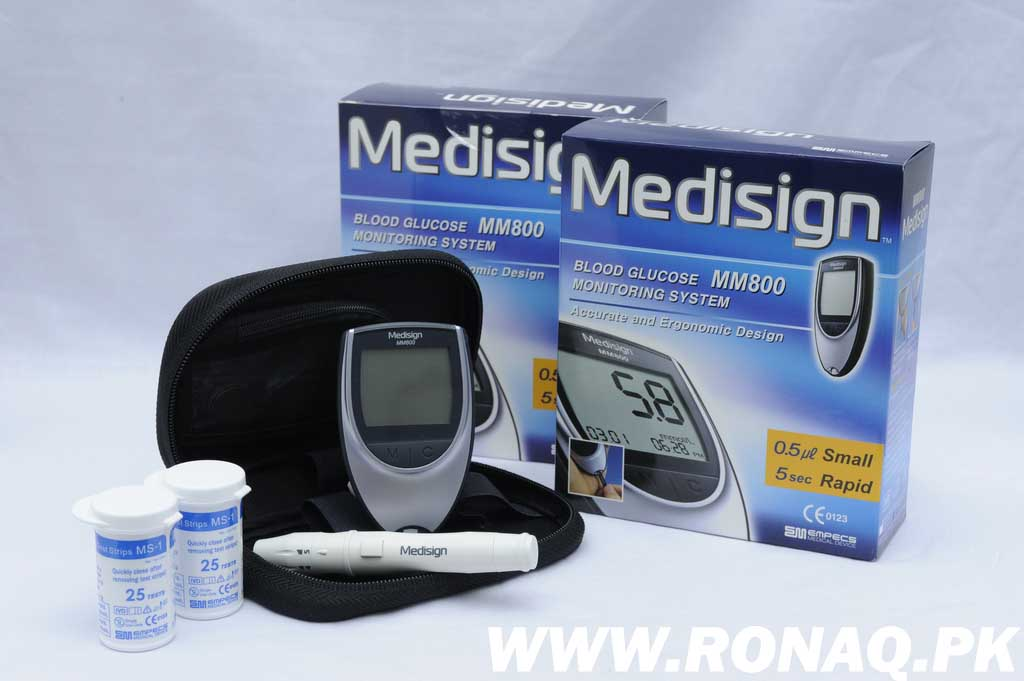 Medisign Korean Glucometer MM800