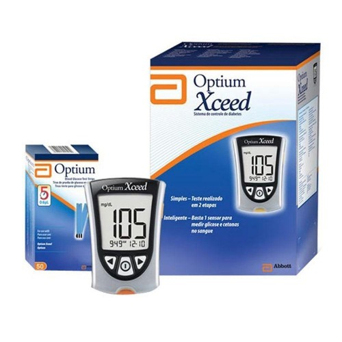 Optium Xceed Blood Glucose Meter
