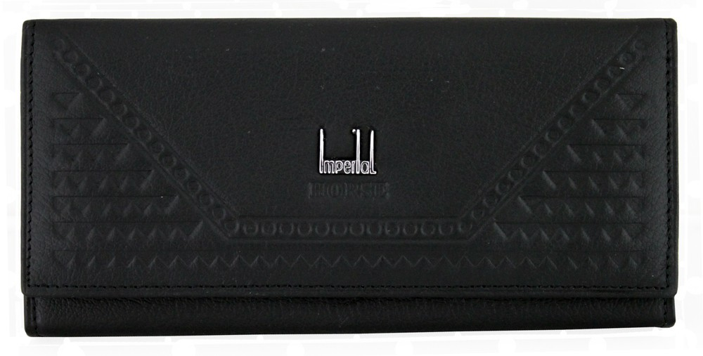 Imperial Horse Dark Black Wallet