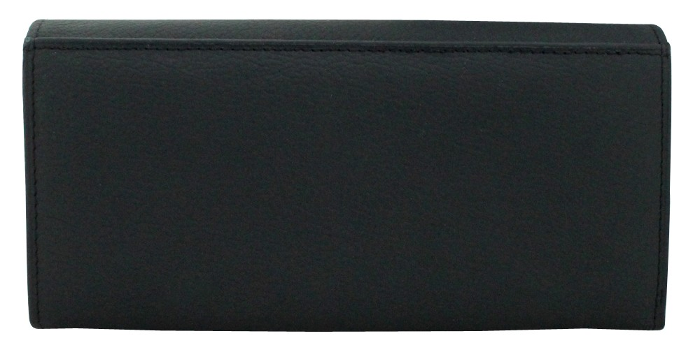 New Horse Imperial Ladies Black Wallet
