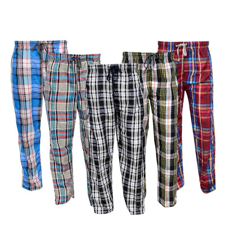 5 Cotton Checkered Lounge Pants(Pajamas)