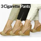 Bundle Of 3 Cigeratte Trousers