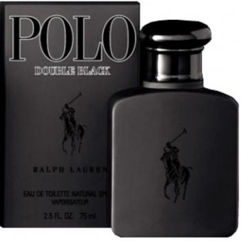 POLO DOUBLE BLACK (MEN