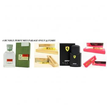 Pack of 4 Perfumes