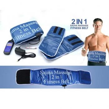 Sauna Massage Fitness 2 in 1 Belt