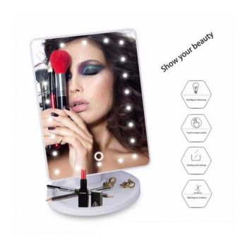 22 LED Touch Screen Makeup Large LED Mirror