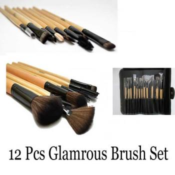 Glamorous Face Usa 12 Pc Professional Brush Kit