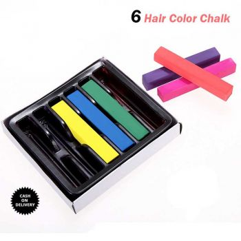 6 Temporary Hair Coloring Chalk