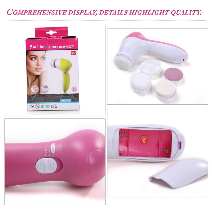 Multifunction face Massager With Free Nail Dryer