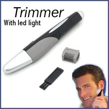 Eyebrow Trimmer With LED Light in Pakistan