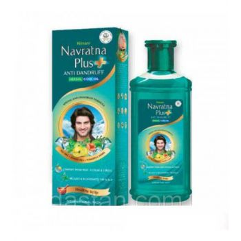 Himani Navratna Plus Anti-Dandruff Herbal Cool Oil